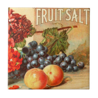 Fruit Salt Advertisement Small Square Tile