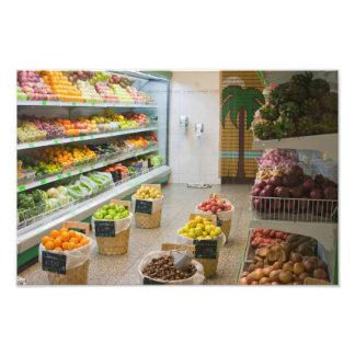 Fruit shop photo print