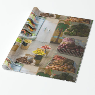 Fruit shop wrapping paper