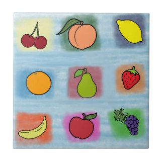 Fruit Surprise Ceramic Tile