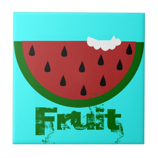 Fruit Sweet Smoothie Watermelon Dessert Destiny Ceramic Tiles