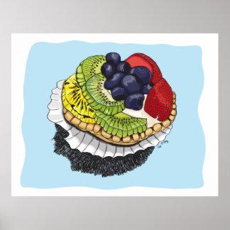 Fruit Tart Dessert Print