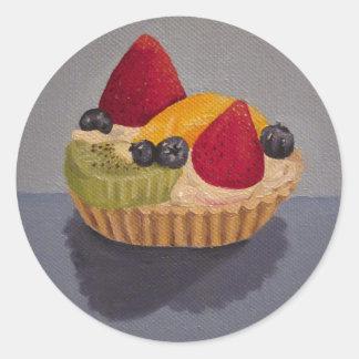 Fruit Tart Sticker