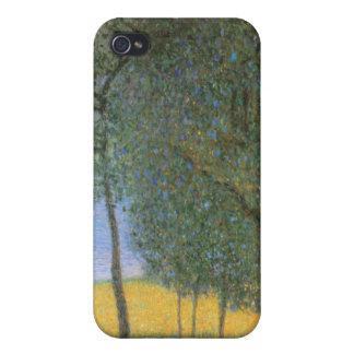 Fruit Trees - Gustav Klimt Cover For iPhone 4