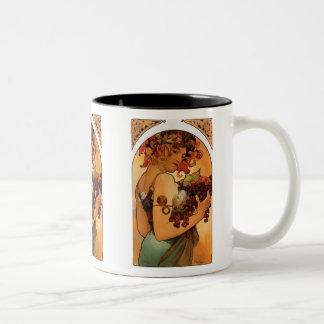 Fruit Two-Tone Coffee Mug