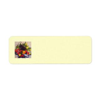 Fruit & Vegetable Medley Return Address Label