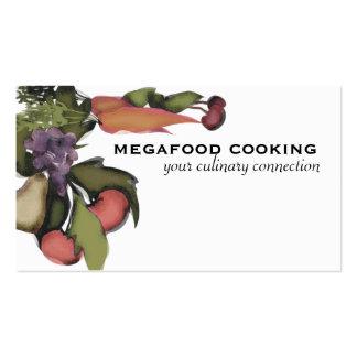 Fruit vegetable mega plant cooking business car... pack of standard business cards