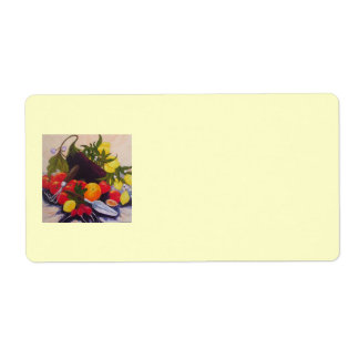 Fruit & Vegetable Shipping Label