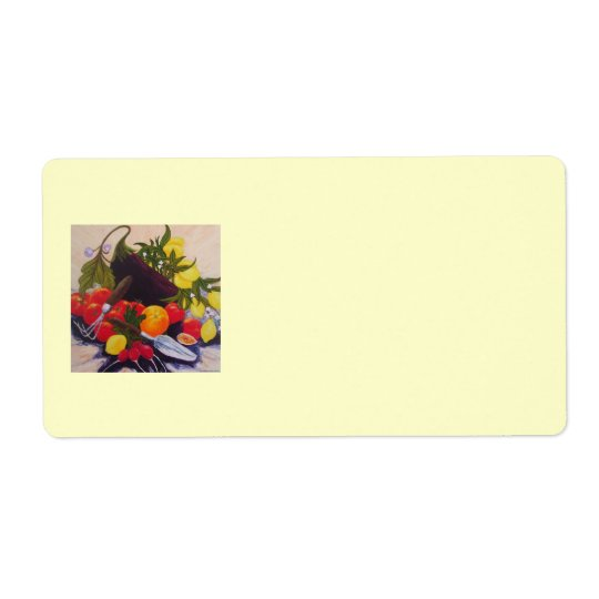 Fruit & Vegetable Shipping Label