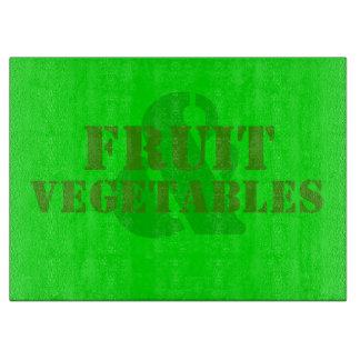 Fruit & Vegetables Cutting Board