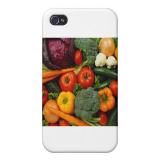 FRUIT & VEGETABLES iPhone 4/4S CASES