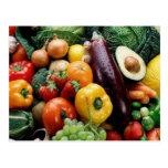 FRUIT & VEGETABLES POSTCARDS