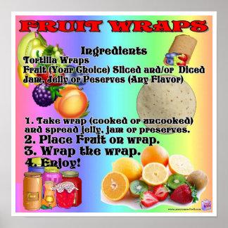 Fruit Wraps Poster