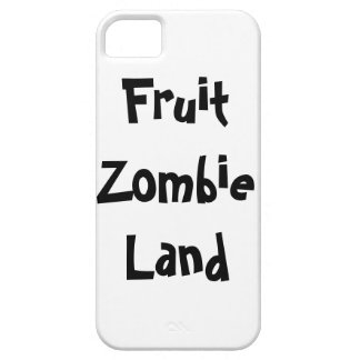 Fruit Zombie Land Barely There iPhone 5 Case