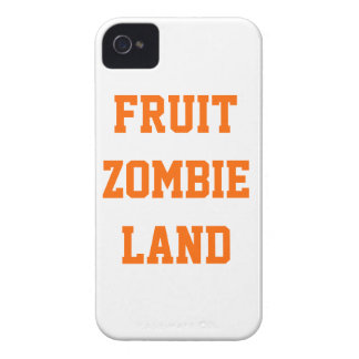 Fruit Zombie Land iPhone 4 Cover