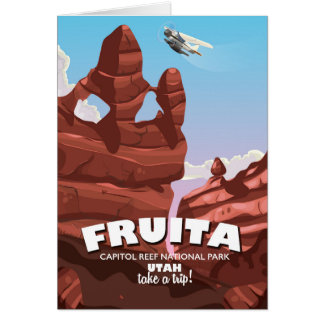 Fruita Capitol Reef National Park Utah Card