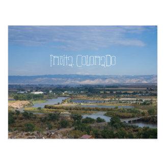 Fruita, Colorado from Dinosaur Hill Postcard