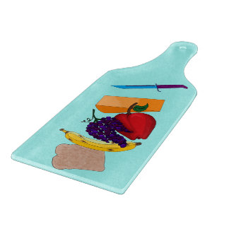 Fruited Glass Cutting Board