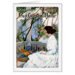 FruitGardenAndHome1924-06 Greeting Card