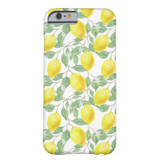 Fruiting Lemon Tree Barely There iPhone 6 Case
