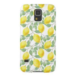 Fruiting Lemon Tree Galaxy S5 Cover
