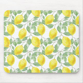 Fruiting Lemon Tree Mouse Pad