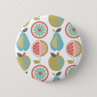 fruits 6 cm round badge