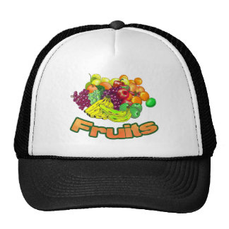 Fruits and Groceries Cap