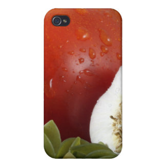Fruits and Pasta iPhone 4 Cases