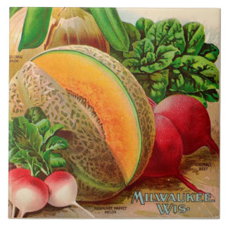 Fruits and Vegetables 6 x 6 ceramic Kitchen Tile