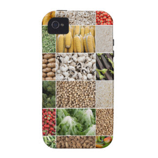 Fruits and Vegetables Vibe iPhone 4 Cases