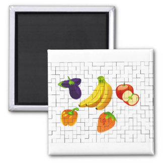 Fruits and Vegetables Magnet