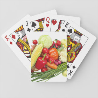 Fruits And Vegetables Playing Cards