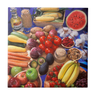 Fruits and vegetables tile