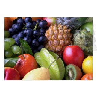 Fruits and Veggies Card