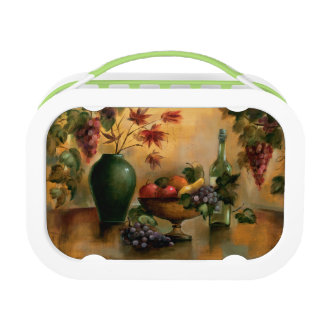Fruits and Wine with Autumn Hues Lunchbox