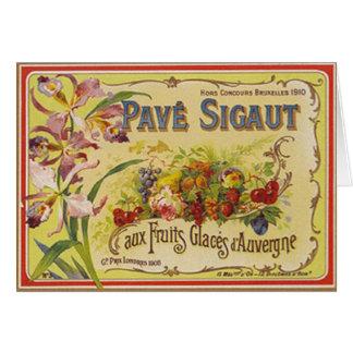 Fruits - card