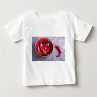 Fruits chilli hot red pepper baby T-Shirt