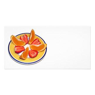 Fruits Customized Photo Card