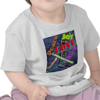 Fruits Esprit écriture couleur T-shirts
