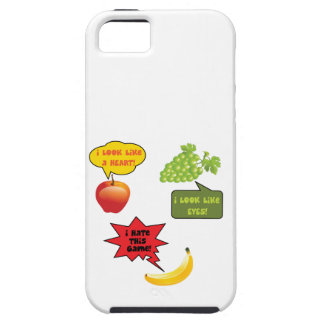 Fruits joke, banana rage case for the iPhone 5