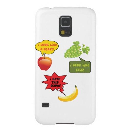 Fruits joke, banana rage case for galaxy s5