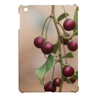 Fruits of a shiny leaf buckthorn iPad mini covers
