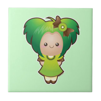 Fruits of the Spirit: Patience Small Square Tile