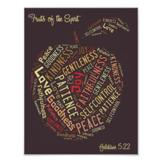 Fruits of the Spirit Poster