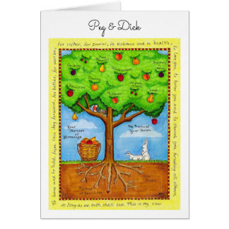 Fruits of Your Union Personalized Anniversary Card