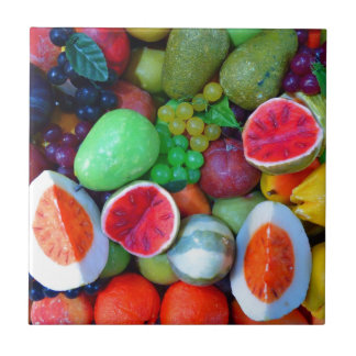 Fruits. Small Square Tile