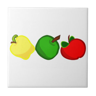 FRUITS SMALL SQUARE TILE