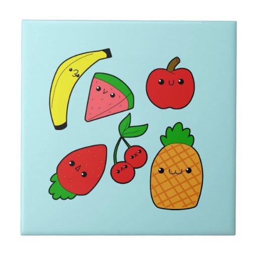 Fruits Tile