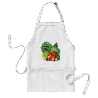 fruits vegetables artichoke banana standard apron